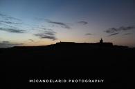 Atardecer en El Morro, Viejo San Juan by Martín Candelario