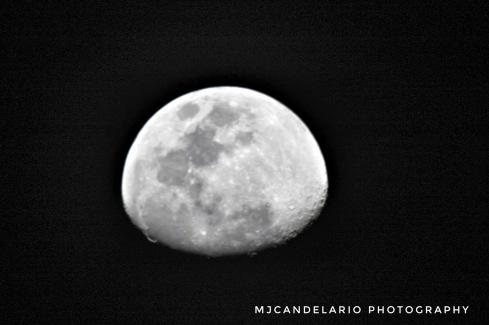 Luna, Bayamon Lens Opteka 1000mm by Martín Candelario