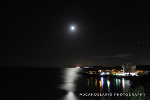 Noche Tranquila, Playa Santa Guánica by Martín Candelario