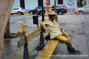 Homenaje a Tite Curet Alonso, Plaza de Armas Viejo San Juan by Martín Candelario
